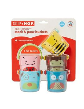 Skip Hop Zoo Stack And Pour Buckets by Skip Hop