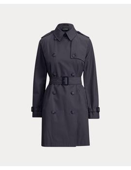 Cotton Blend Trench Coat by Ralph Lauren