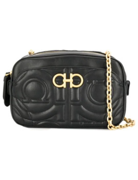 Gancini Quilted Crossbody Bag by Salvatore Ferragamo