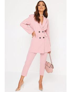 Pink Pinstripe Trousers by I Saw It First