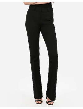 High Waisted Barely Boot Pant by Express