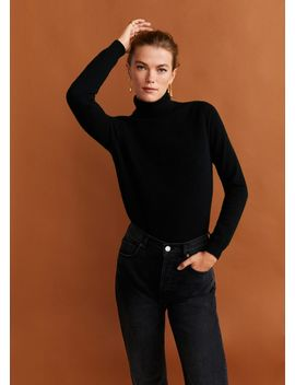 Pull Over 100% Cachemire Col Montant by Mango