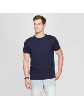 Men's Standard Fit Short Sleeve Lyndale Crew Neck T Shirt   Goodfellow & Co™ by Goodfellow & Co