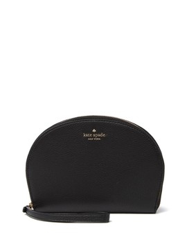 Rima Round Leather Wristlet Pouch by Kate Spade New York
