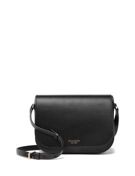Nadine Medium Flap Leather Crossbody Bag by Kate Spade New York