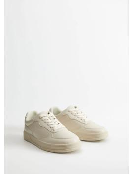 Sneakers Basic Med Snören by Mango