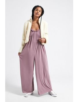Uo Galliant Wide Leg Jumpsuit by Urban Outfitters