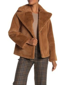Plush Faux Fur Jacket by Avec Les Filles