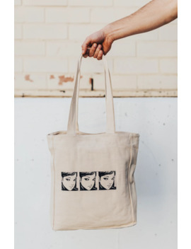 'tomie' Tote Bag by Handcrafted  ×