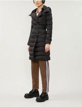 Arniston Hooded Shell Down Coat by Burberry