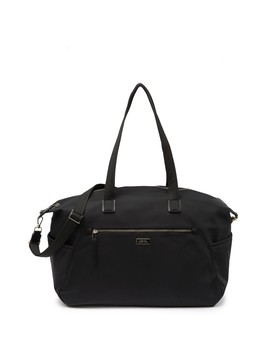 Rima Leather Trimmed Nylon Weekend Travel Bag by Kate Spade New York