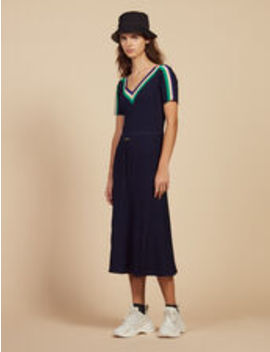Long Sportswear Knit Dress by Sandro Eshop