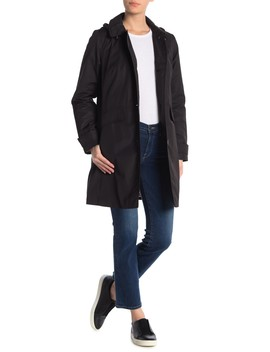 Hooded Trench Coat by Kate Spade New York