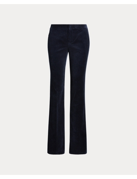 Corduroy Straight Leg Trouser by Ralph Lauren