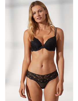 Sostén Push Up De Encaje by H&M