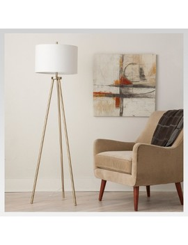 Ellis Tripod Floor Lamp Brass   Project 62™ by Shop Collections