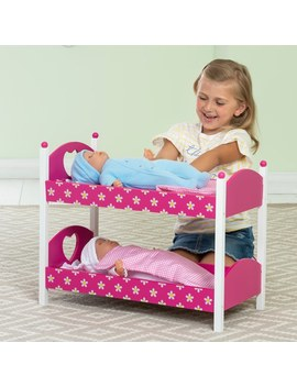 Dolls Wooden Bunk Beds by Smyths