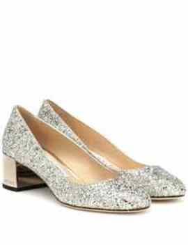 Exclusive To Mytheresa – Jessie 40 Glitter Pumps by Jimmy Choo