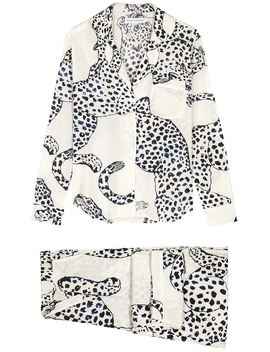 The Jag Printed Cotton Pyjama Set by Desmond & Dempsey