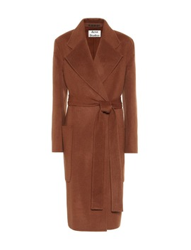 Belted Wool Coat by Acne Studios