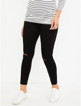 Articles Of Society Secret Fit Belly Carly Crop Maternity Jeans by A Pea In The Pod