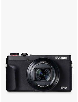 "Canon Power Shot G5 X Mark Ii Digital Camera, 4 K Ultra Hd, 20.1 Mp, 5x Optical Zoom, Wi Fi, Bluetooth, Evf, 3"" Tilting Touch Screen by Canon"