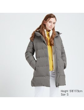 Women Seamless Down Short Coat (26) by Uniqlo