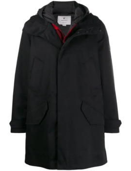 Hooded Duffle Coat by Woolrich