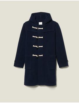 Duffle Coat En Laine by Sandro Paris