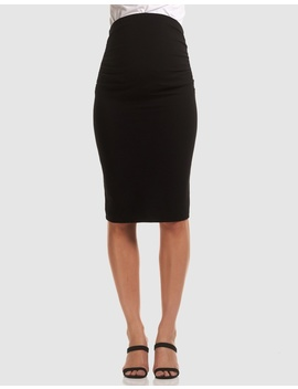 Midi Work Skirt by Soon Maternity