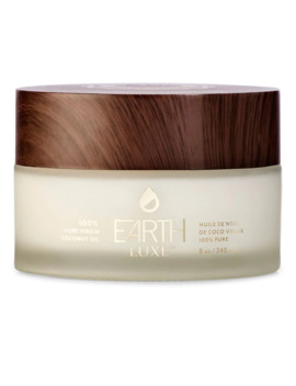 100% Pure Virgin Coconut Oil by Earth Luxe