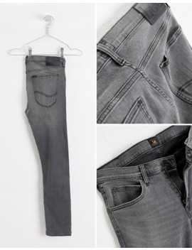 Lee Jeans Luke Slim Tapered Jeans In Grey Worn by Lee