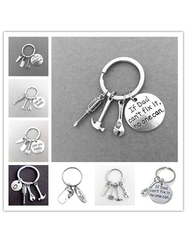 Keyring ''if Dad Can''t Fix It No One Can'' Hand Tools Keyring Gift For Dad, Father Keychain, Christmas Father's Day Gifts! by Wish