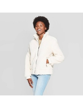 Women's Sherpa Bomber Jacket   Universal Thread™ by Universal Thread