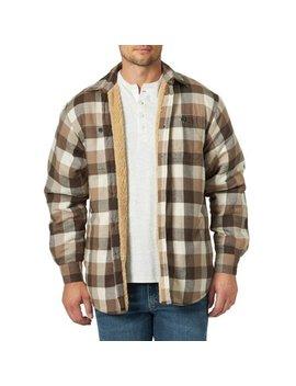 Wrangler Men's Long Sleeve Heavyweight Shirt Jacket by Wrangler