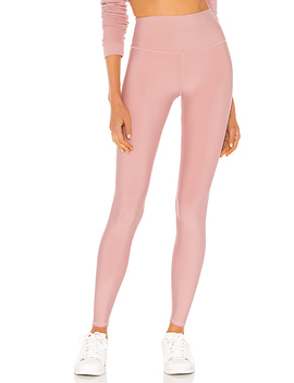 High Waist Airlift Legging In Pale Mauve by Alo