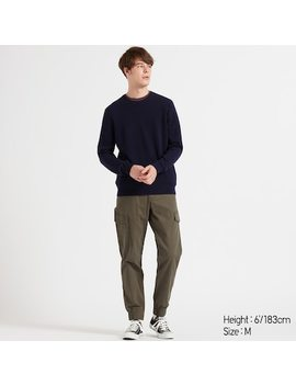 Pull En Cachemire À Col Rond Homme (8) by Uniqlo