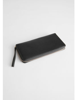 Large Continental Leather Wallet by & Other Stories