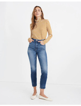 Rivet & Thread Perfect Vintage Crop Jeans In Clarkdale Wash by Madewell