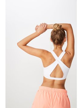 Workout Cut Out Crop by Cotton On