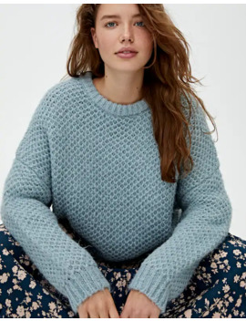 Pull Piqué Doux by Pull & Bear