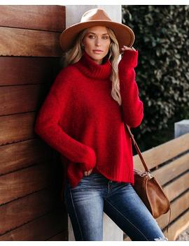 Henry Sweater   Red by Vici