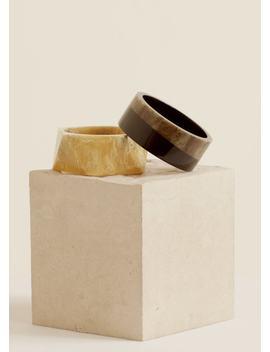 Resin Bracelet Set by Mango