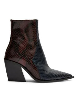 Honour Leather Western Boots by Topshop