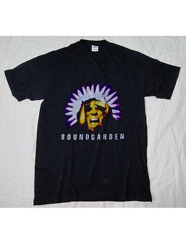 Vintage Soundgarden Black Hole Sun T Shirt  Concert Tour Tee Reprint by Gildan