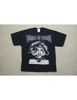 Vintage 90's Cradle Of Filth Sedusa Of Ravens And Angels Shirt by M&O