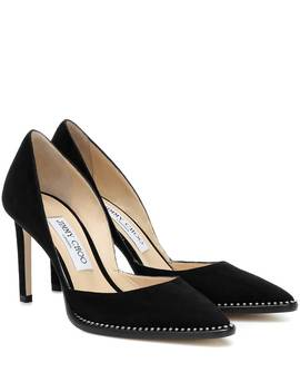 Babette 85 Suede Pumps by Jimmy Choo