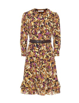 Abstract Flowering Shirt Dress by Dorothee Schumacher