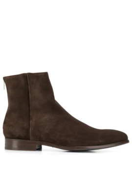 Rear Zipped Ankle Boots by Ps Paul Smith