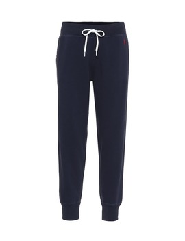 Cotton Blend Jersey Trackpants by Polo Ralph Lauren